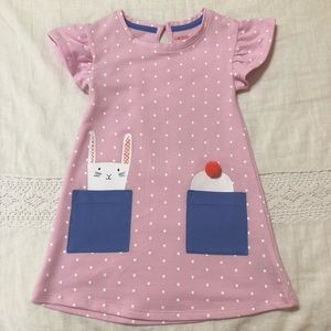 Cat & Jack - Pink Bunny Dress